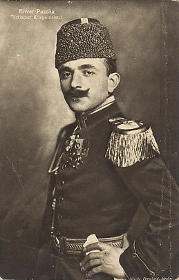 Enver Pasha, Turkish Minister of War