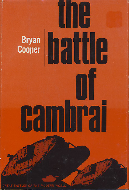 Cover of The Battle of Cambrai by Brian Cooper