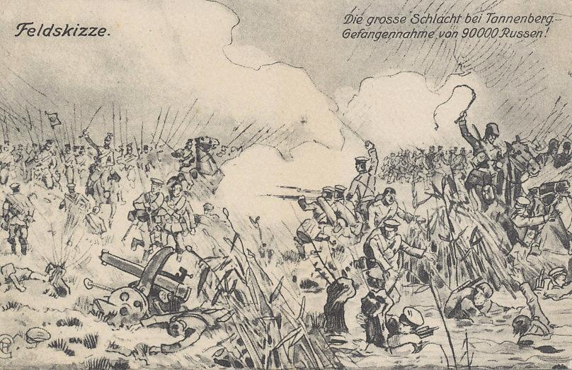 The Battles of Gumbinnen and Tannenberg