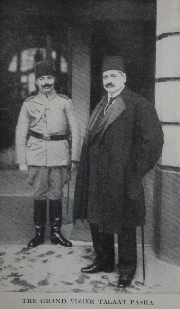 Turkish Interior Minister Talaat Pasha from 'Four Years Beneath the Crescent' by Rafael De Nogales.
