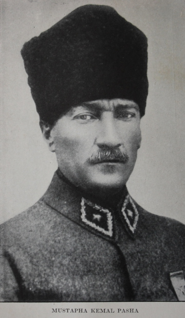 Mustapha Kemal Pasha, later Ataturk, from 'Four Years Beneath the Crescent' by Rafael De Nogales.