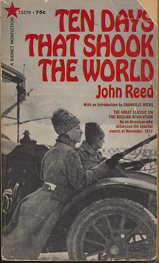 Cover of the 1967 Signet edition of Ten Days that Shook the World by John Reed