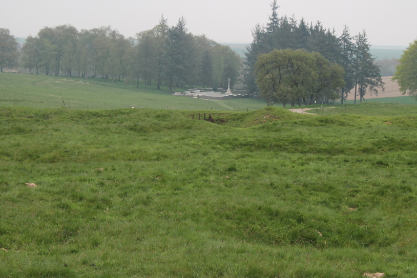 Y Ravine Cemetery, Beaumont-Hamel, France.
